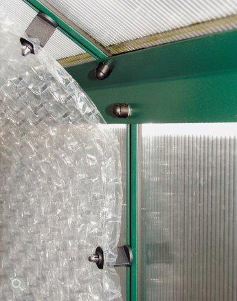 MacGreen Luftpolsterfolie (10 m x 150 cm), UV-stabilisiert, Stärke: 150 my