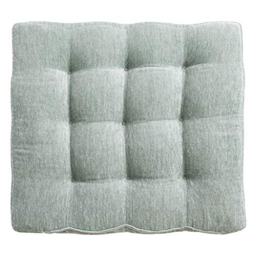 Mahagoni Outdoor-sofa (NJ Polster- Kissen Padded Tatami Kissen chinesischen Stil Mahagoni Sofa Chair Kissen Polsterung Boden Fenster Pad 40x43cm, 50x60cm (Farbe : Green, größe : 40x43cm))