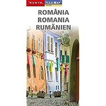 KUNTH FlexiMap Magnum Rumänien 1:800000