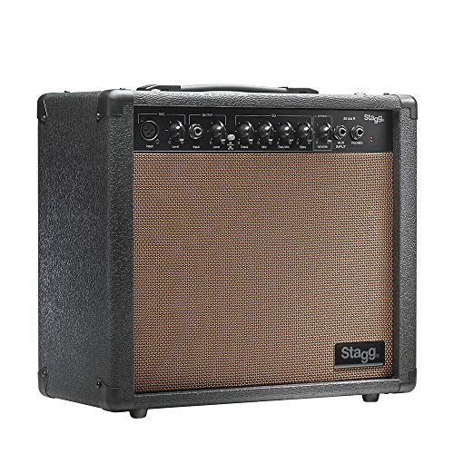Stagg 25015611 20 AA R EU REVERB Acoustic Gitarre Amplifier (20 Watt)