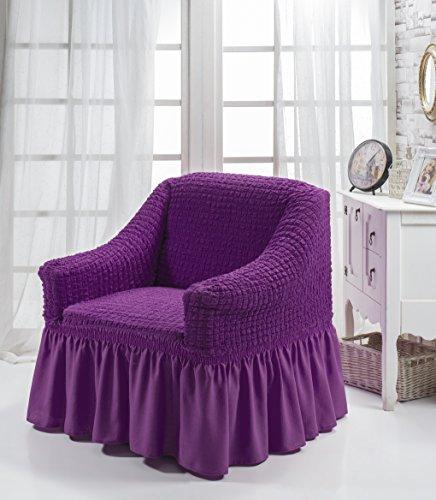 My Palace Universal Stretch 1 Sesselschoner, Sesselbezug, Sesselhusse. Stretch-bezug mit Anti rutsch System/Schutz fur Spannbezug/Armlehnenschoner