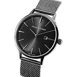 Uhr Cesare Paciotti Herren 42mm tsst128nur Zeit Armband Stahl Trikot Milano