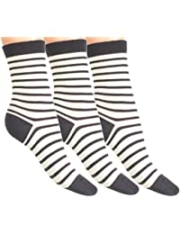 Loonysocks, 3 Pair of Our Best Socks Made of Super Soft Ascona Merino Wool Women/ Ladies