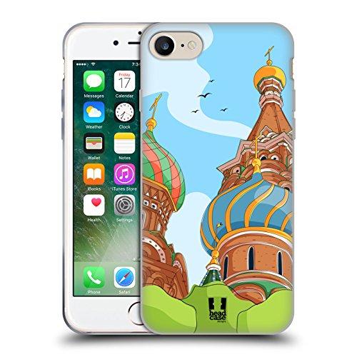 Head Case Designs Piano T Rex Dino Musikeros Cover Morbida In Gel Per Apple iPhone 7 / iPhone 8 Russia