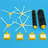 Yongse Cepillos y filtros de vacío para piezas de iRobot Roomba serie 700 accesorios para aspiradoras de reemplazo