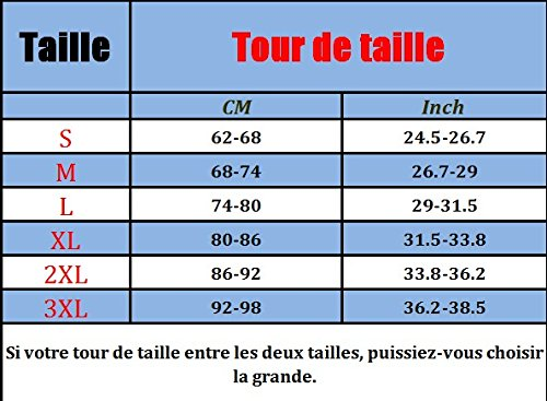 MISS MOLY Gaine Bustier Taille Sérrée Femmes 100% Latex Minceur Ventre Plat Waist Training Formation Underbust Corset Body Shaper