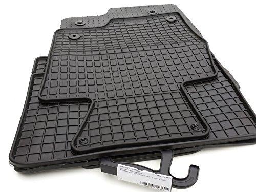 kh Teile 92215 Gummimatten Original Qualität Gummi Fußmatten 4-teilig schwarz (Mazda 2014 Fußmatten 6)