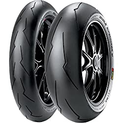 Pirelli Diablo SuperCorsa SP V2 Tire - Rear - 180/60ZR-17 , Position: Rear, Rim Size: 17, Tire Application: Race, Tire Size: 180/60-17, Tire Type: Street, Load Rating: 75, Speed Rating: (W), Tire Construction: Radial 2321700