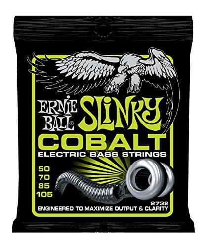 Ernie Ball 2732 Cobalt Regular Slinky 50-105 Bass String Set