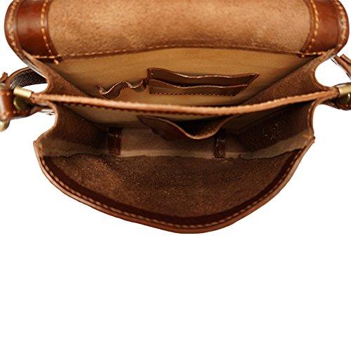 Aktentasche mit Schulterriemen 6515 Braun