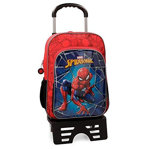 Marvel Spiderman Black Zainetto per bambini 40 centimeters 15.6 Multicolore (Multicolor)