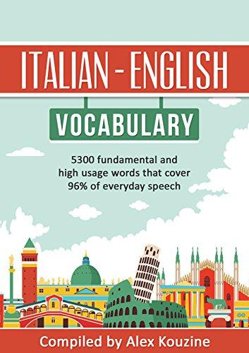 Italian - English Vocabulary: 5,300 fundamental and high