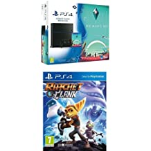 Console PS4 1 To Jet Black +  Lego Star Wars + Blu Ray : Star Wars The Force Awakens