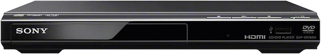 Sony DVP-SR760HB DVD-Player/CD Player (HDMI, 1080p Upscaling, USB-Eingang, Xvid Playback, Dolby Digital) schwarz