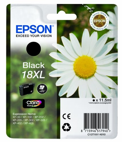 Epson C13T18114012 XL Inkjet / Getto d'Inchiostro, Cartuccia Originale