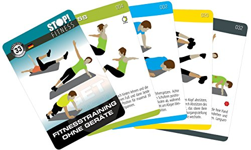 Stop. Training schede-Fitness Training senza attrezzatura DT. Version-Fitness Serie