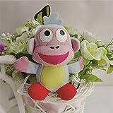 #8: Dora The Explorer 10cm Dora Soft toys Combo ( 1 pc Boots Monkey without basket) dolls