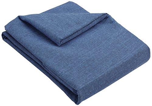 Zebra Textil 43596, Copridivano Beret, biposto, Colore Blu