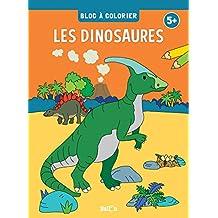 Bloc à colorier: Dinosaures dès 5ans