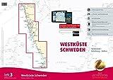 Sportbootkarten Satz 3: Westküste Schweden (Ausgabe 2016/2017): Strömstad bis Kullen
