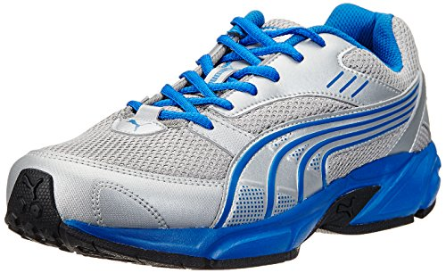 Puma Men's Pluto DP Puma Silver-Snorkel Blue Running Shoes - 7 UK/India (40.5 EU)  available at amazon for Rs.1499