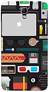 PRINTVISA Pattern Life Abstract Case Cover for Samsung Galaxy Note 3 Neo