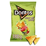 Doritos Hint of Lime Tortilla Chips, 180g