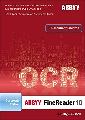 ABBYY FineReader 10 Corporate Edition Deutsche Version KO