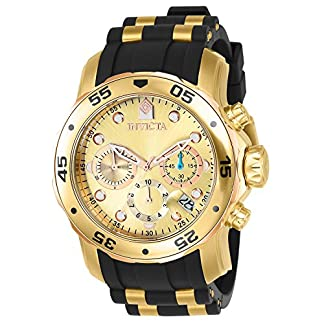 Invicta Chronograph Gold Dial Men's Watch-17884