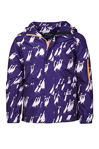 Rydale Junior Unisex Boys Girls Patterned Waterproof Raincoats Kid