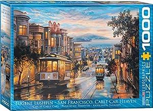 Eurographics 6000-0957 - Puzzle de 1000 Piezas, diseño de San Francisco