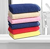 #10: Hsr Collection Microfiber Dusting, Scratchless And Cleaning Towel (6 Pcs)