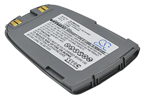 techgicoo 820mAh/3.03WH Akku kompatibel mit Samsung sgh-e628, sgh-e620