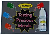 Caratest Professional 9ct Gold Testing Kit - Tester Solution and Full Colour Instruction Booklet