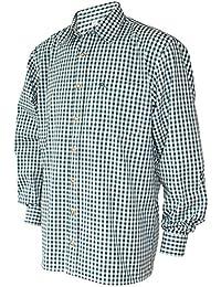 orbis Textil Trachtenhemd Karo Trachten-Pfoadl Karohemd grün kariert  Trachten-Hemd Herrenhemd Tracht Jagd Herren Freizeithemd langarm… 17c187e30e