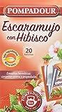 Pompadour Infusión Escaramujo Hibisco - 20 Bolsitas