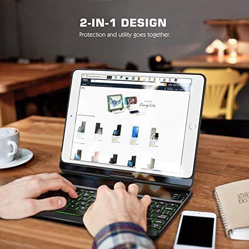 Zoom IMG-1 moko tastiera bluetooth cover girevole