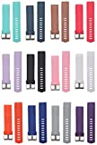 #3: Tiger54 Fitbit Charge 2 SmartWatch Fitness Wrist Adjustable And Replacable Wrist Band/ Strap - Small (Pack of 12)