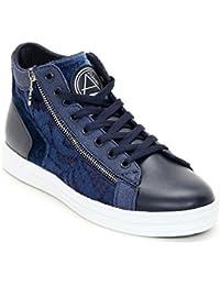 cd30ece1f5ca0d Alesya Sport Scarpe Scarpe - Sneaker Aus Spitze mit Seitlichem  Reißverschluss