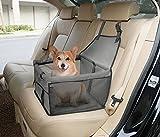 caidi Deluxe tragbar Pet Hund Autositzerhöhung mit Wechselrahmen Sicherheit Leine und...