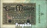 Deutsches Reich Rosenbg: 111a, Reichsdruckerei 1923 1 Milliarde Mark (Banknoten für Sammler)