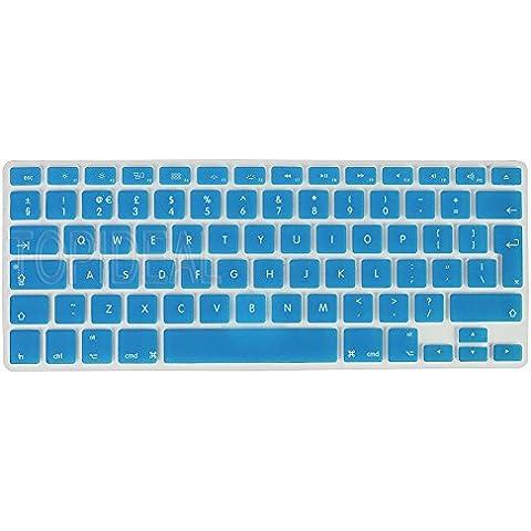 'Topideal–Carcasa de silicona para teclado para Apple MacBook Air (13) y MacBook Pro (13