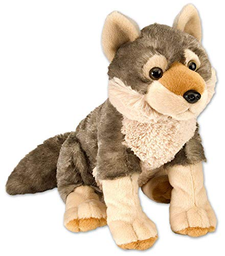 Wild Republic 30cm Europe Cuddlekins Wolf