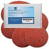 40Bond Schleifmittel Schleifscheiben für Bosch GEX 125–150AVE Professional Exzenterschleifer 125mm Körnung 180(fein)