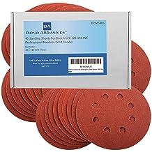 40Bond abrasivi dischi abrasivi per Bosch Gex 125–150Ave levigatrice orbitale professionale 125mm 180Grit (fine)