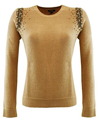 Tricot srtrass10004 Kocca Maglione in tricot Rosa L Donna