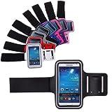 Bralexx Fitness Cover Case - Funda con brazalete para móvil, negro