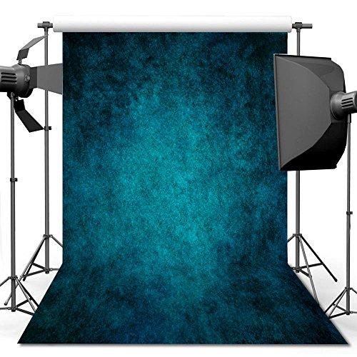 Fotografie Hintergrund, 1.5 x 2.2 m Retro Art Blue Portrait Hintergrund für Studio Requisiten Foto ()