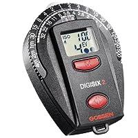 GOSSEN DIGISIX 2 : Posemètre compact et léger, idéal en reportage. livré avec cordon, pile et housse. Il dispose en plus des fonctions de thermomètre, horloge avec alarme et chrono.