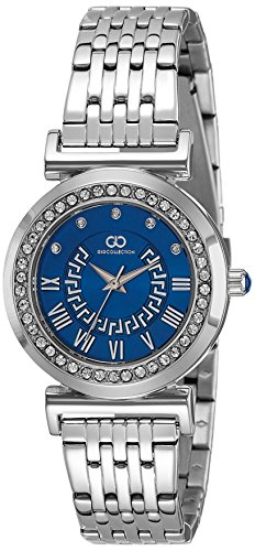 Gio Collection Analog Blue Dial Women's Watch-G2020-22 image